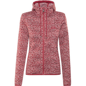 Jack Wolfskin Belleville Jacket Women indian red all over